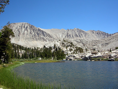 Mount Whitney from Timberline Lake
