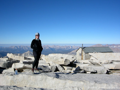 Me on Mt Whitney